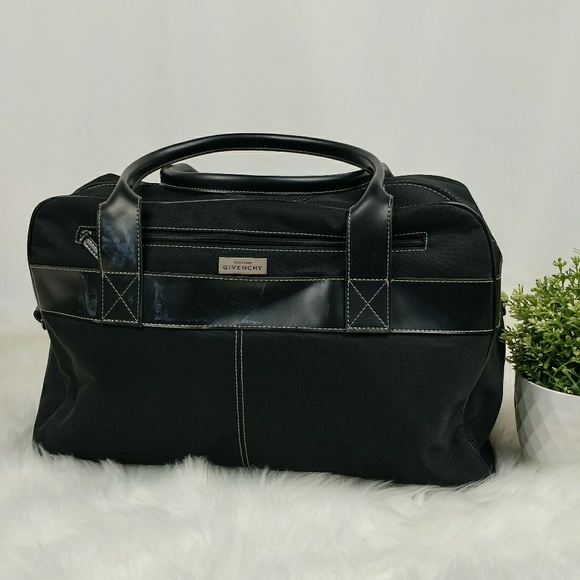 c2b9322596f4 Givenchy Other - GIVENCHY Parfums large black duffle bag travel bag